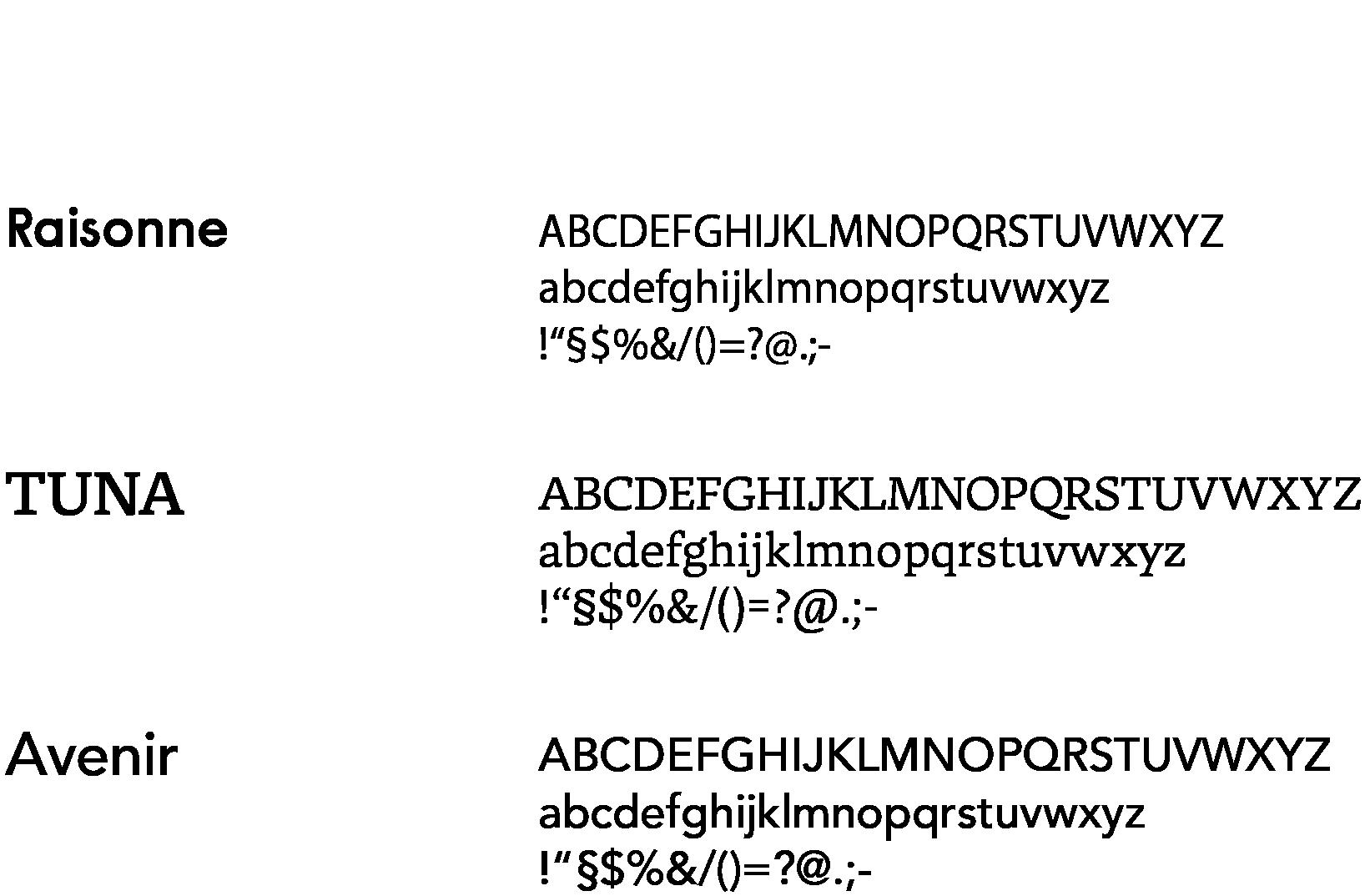 und co nautico fonts
