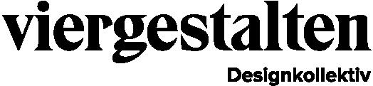 viergestalten logo negativ